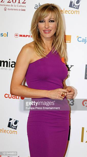 Susanna Griso attends the 'Spanish Academy Television Awards 2010' at Teatros del Canal on June 9 2010 in Madrid Spain