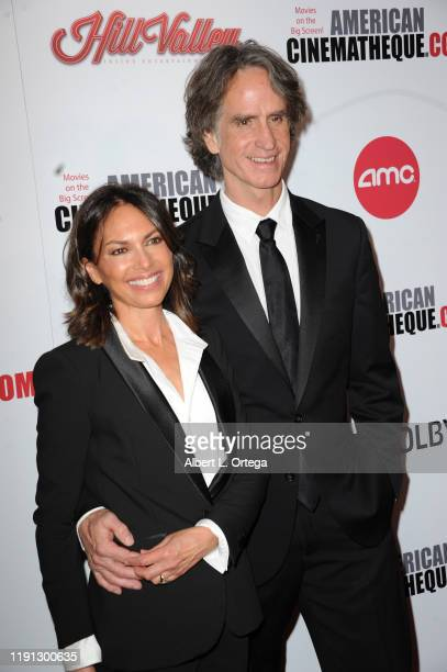 Susanna Hoffs and Jay Roach arrive for the 33rd American Cinematheque Award Presentation Honoring Charlize Theron held at The Beverly Hilton Hotel on...