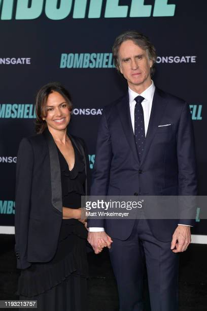 Susanna Hoffs and Jay Roach attend a Special Screening of Liongate's Bombshell at Regency Village Theatre on December 10 2019 in Westwood California