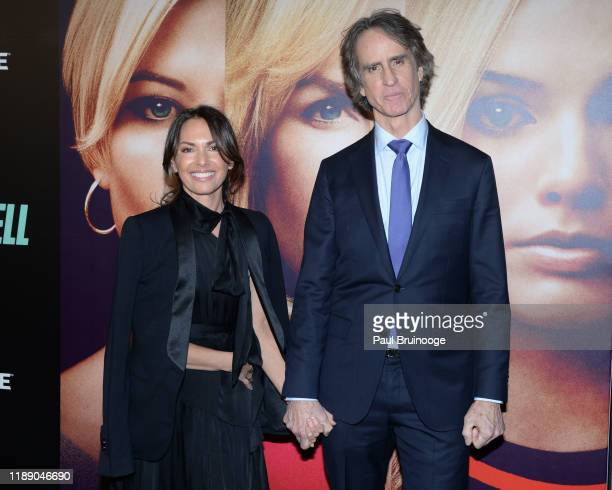 Susanna Hoffs and Jay Roach attend Special Screening Of Bombshell December 16 2019 at Frederick P Rose Hall Jazz at Lincoln Center in New York City