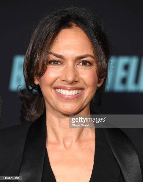 Susanna Hoffs arrives at the Special Screening Of Liongate's Bombshell at Regency Village Theatre on December 10 2019 in Westwood California