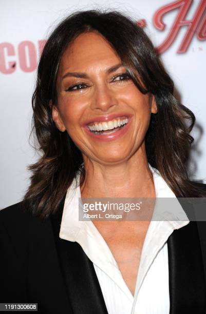 Susanna Hoffs arrives for the 33rd American Cinematheque Award Presentation Honoring Charlize Theron held at The Beverly Hilton Hotel on November 8...
