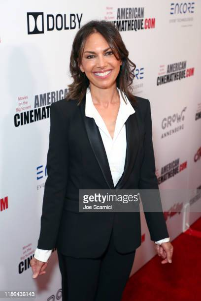 Susanna Hoffs attends the 33rd American Cinematheque Award Presentation Honoring Charlize Theron and The 5th Annual Sid Grauman Award Presented by...