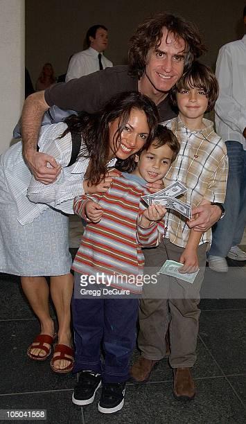 Susanna Hoffs husband Jay Roach and sons Sam and Jackson