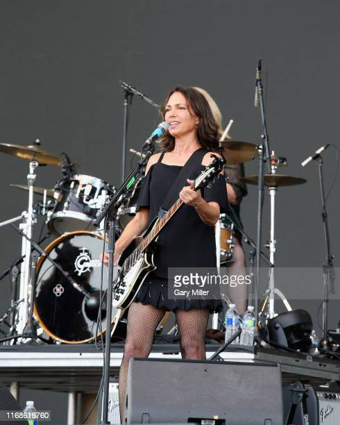 Susanna Hoffs of The Bangles performs in concert during the 2019 KAABOO Del Mar at Del Mar Race Track on September 15 2019 in Del Mar California