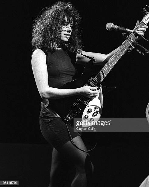 Susanna Hoffs performing with The Bangles at the Greek Theater in Berkeley on July 2 1987