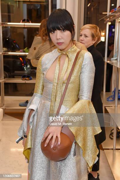 Susanna Lau aka Susie Bubble attends the opening of the JW Anderson Soho Flagship store in Soho on March 12 2020 in London England