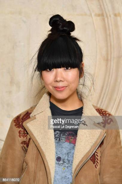 Susanna Lau attends the Christian Dior show as part of the Paris Fashion Week Womenswear Spring/Summer 2018 on September 26 2017 in Paris France