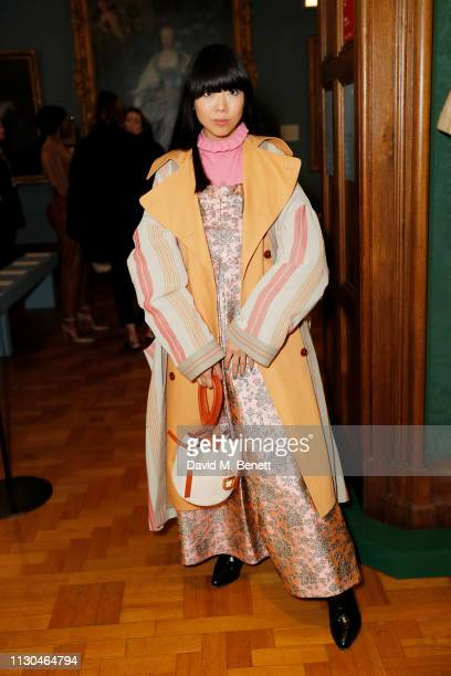 Susanna Lau attends the Erdem show during London Fashion Week February 2019 at National Portrait Gallery on February 18 2019 in London England