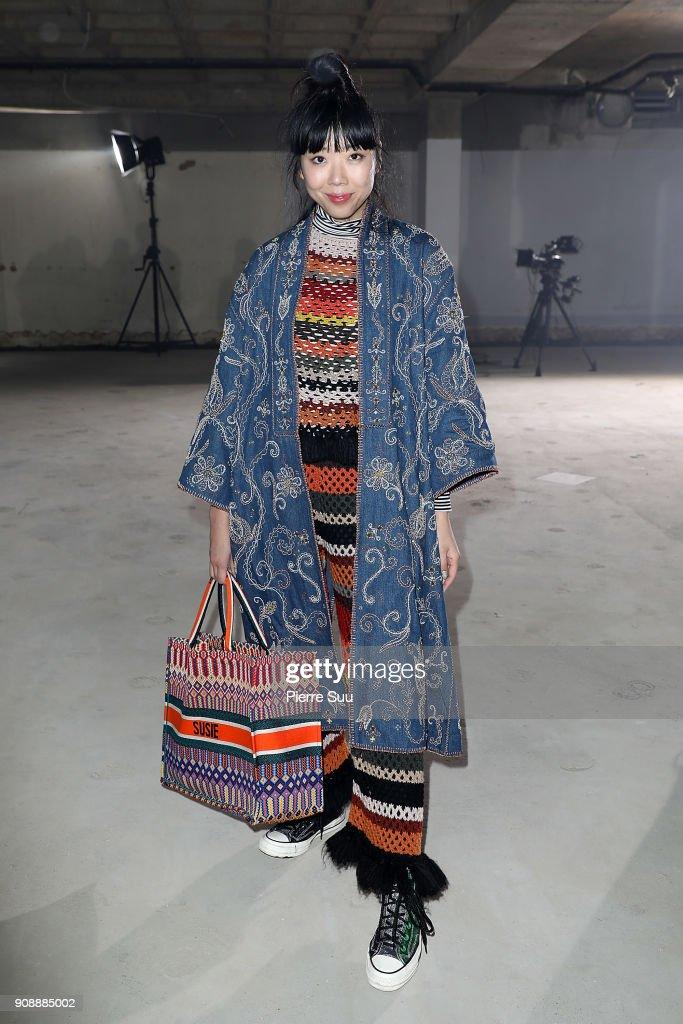 Proenza Schouler : Front Row - Paris Fashion Week - Haute Couture Spring Summer 2018