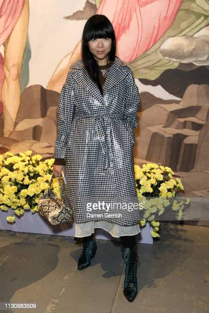 Susanna Lau attends the Shrimps show during London Fashion Week February 2019 at Ambika P3 on February 19 2019 in London England