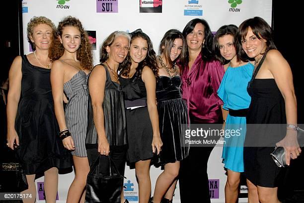 Susanna Mancini, Sara Foresi, Lori Sherman, Guest, Cara Greenspan, Debbie Greenspan, Remy Geller and Jayne Geller attend Party 4 a Cause at The Ultra...