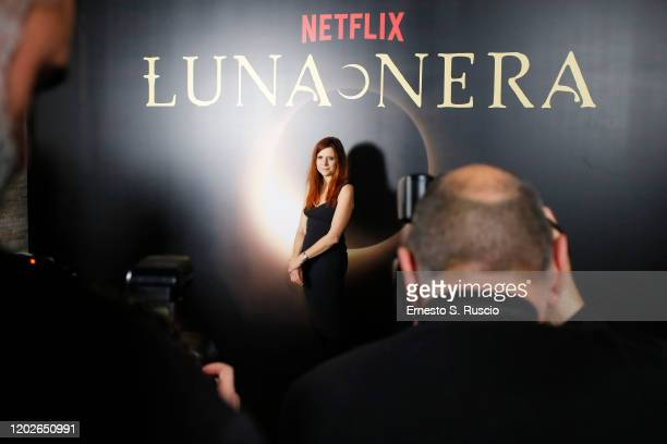 Susanna Nicchiarelli attends the Netflix's Luna Nera Premiere Party on January 28 2020 in Rome Italy