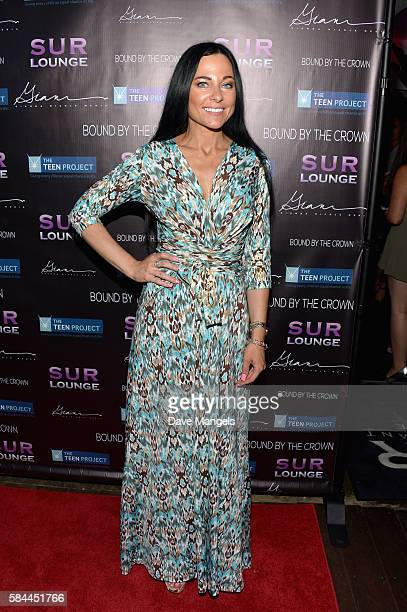 Susanna Paliotta attends Teen Project LA's 2016 Teen Dream at Sur Restaurant on July 28 2016 in Los Angeles California