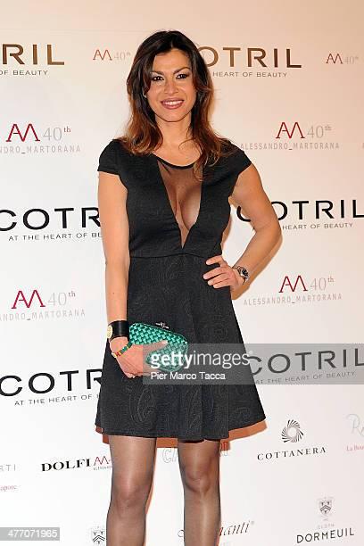 Susanna Petrone attends the Alessandro Martorana birthday party at Four Seasons Hotel on March 6 2014 in Milan Italy