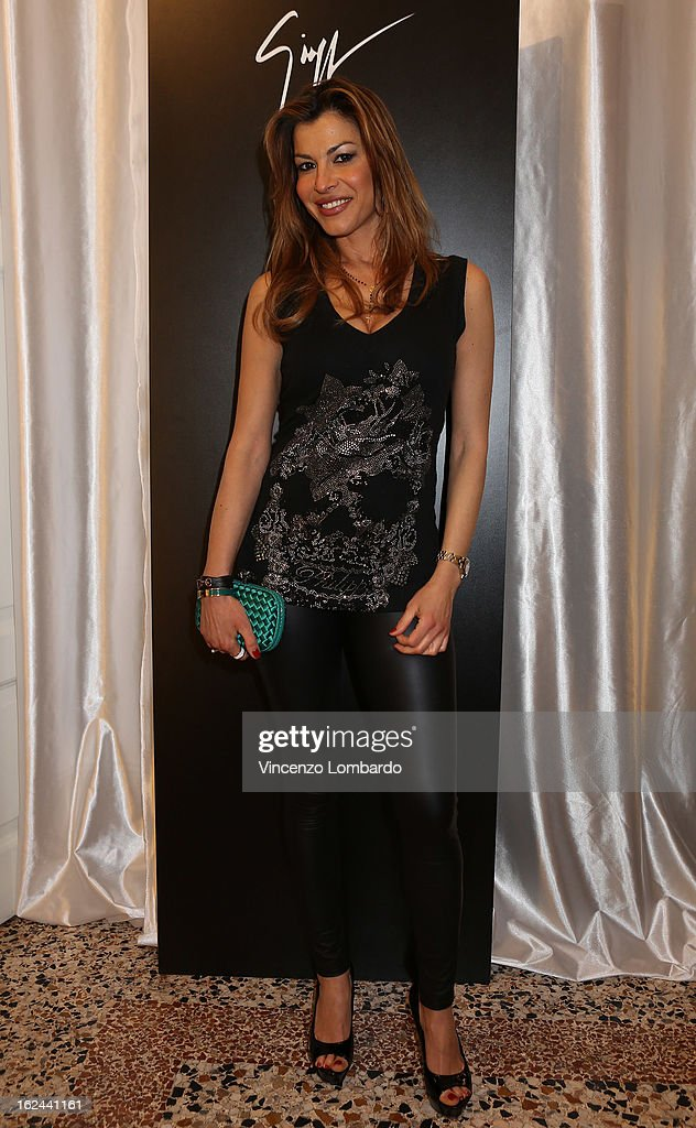 Susanna Petrone attends the Giuseppe Zanotti Design Presentation during Milan Fashion Week Womenswear Fall/Winter 2013/14 on February 23, 2013 in Milan, Italy.