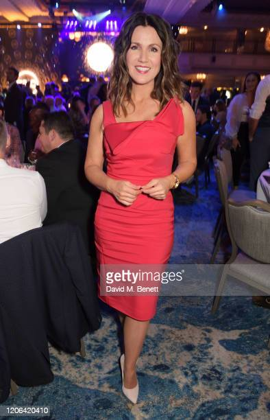 Susanna Reid arrives at the TRIC Awards 2020 at The Grosvenor House Hotel on March 10, 2020 in London, England.