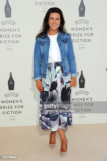 Susanna Reid arrives to celebrate the 2015 Baileys Women's Prize for Fiction at London's Royal Festival Hall on Wednesday 3 June 2015 in London...