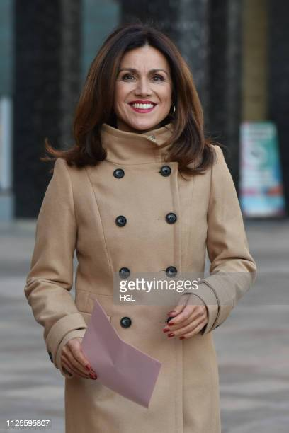 Susanna Reid at the ITV Studios on January 28 2019 in London England