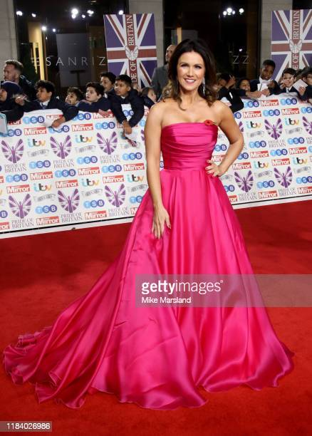 Susanna Reid attends Pride Of Britain Awards 2019 at The Grosvenor House Hotel on October 28 2019 in London England