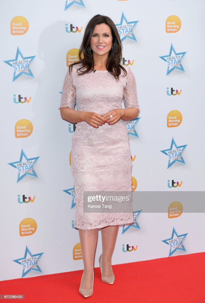 Susanna Reid attends the Good Morning Britain Health Star Awards at the Rosewood Hotel on April 24, 2017 in London, United Kingdom.