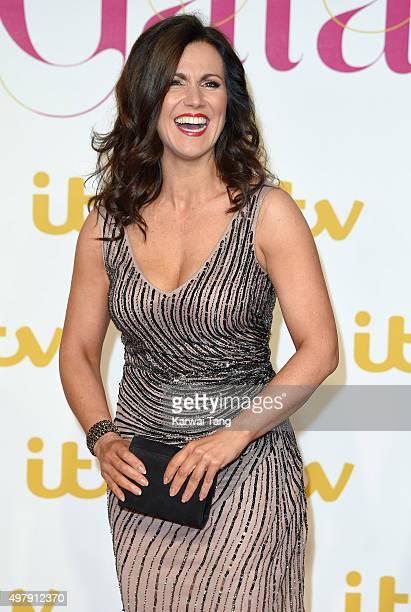 Susanna Reid attends the ITV Gala at London Palladium on November 19 2015 in London England