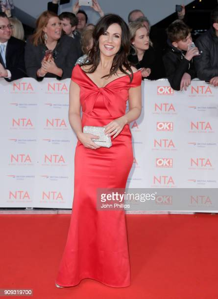 Susanna Reid attends the National Television Awards 2018 at the O2 Arena on January 23 2018 in London England