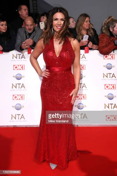 Susanna Reid attends the National Television Awards 2020 at The O2 Arena on January 28, 2020 in London, England.