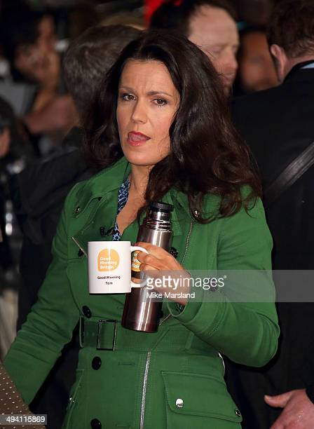 Susanna Reid attends the premiere of Edge Of Tomorrow on May 28 2014 in London United Kingdom