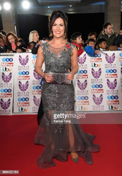 Susanna Reid attends the Pride Of Britain Awards at the Grosvenor House on October 30 2017 in London England