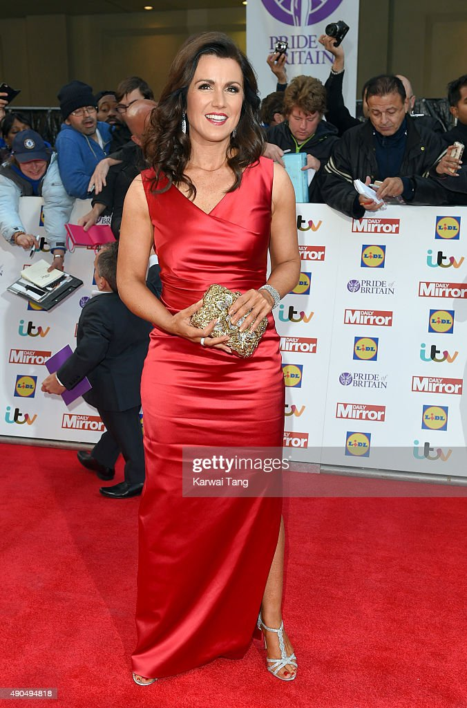 Susanna Reid attends the Pride of Britain awards at The Grosvenor House Hotel on September 28, 2015 in London, England.