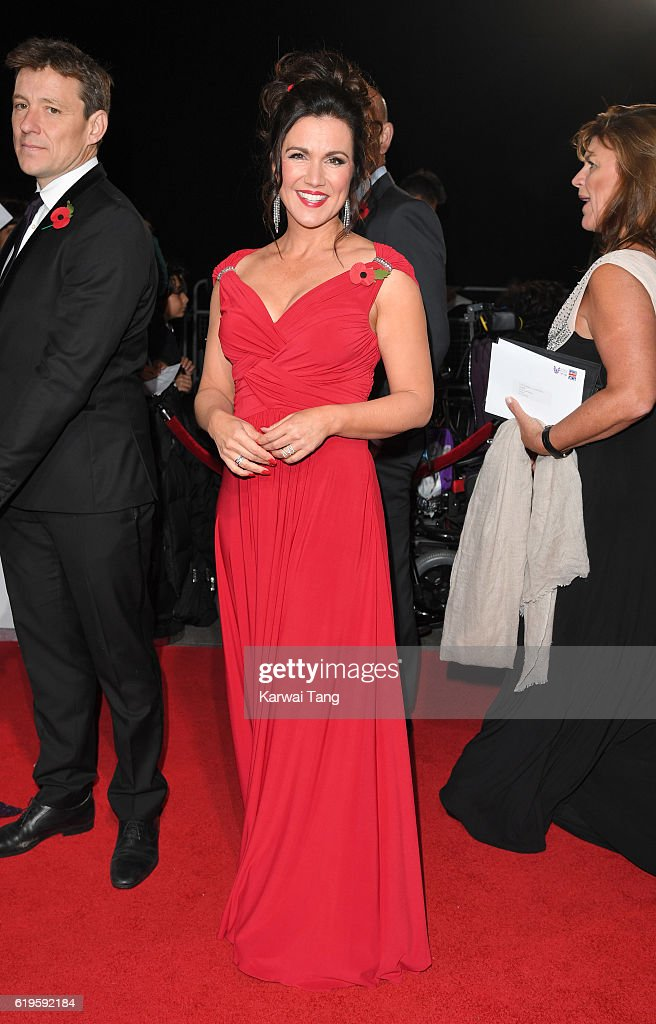 Susanna Reid attends the Pride Of Britain Awards at The Grosvenor House Hotel on October 31, 2016 in London, England.