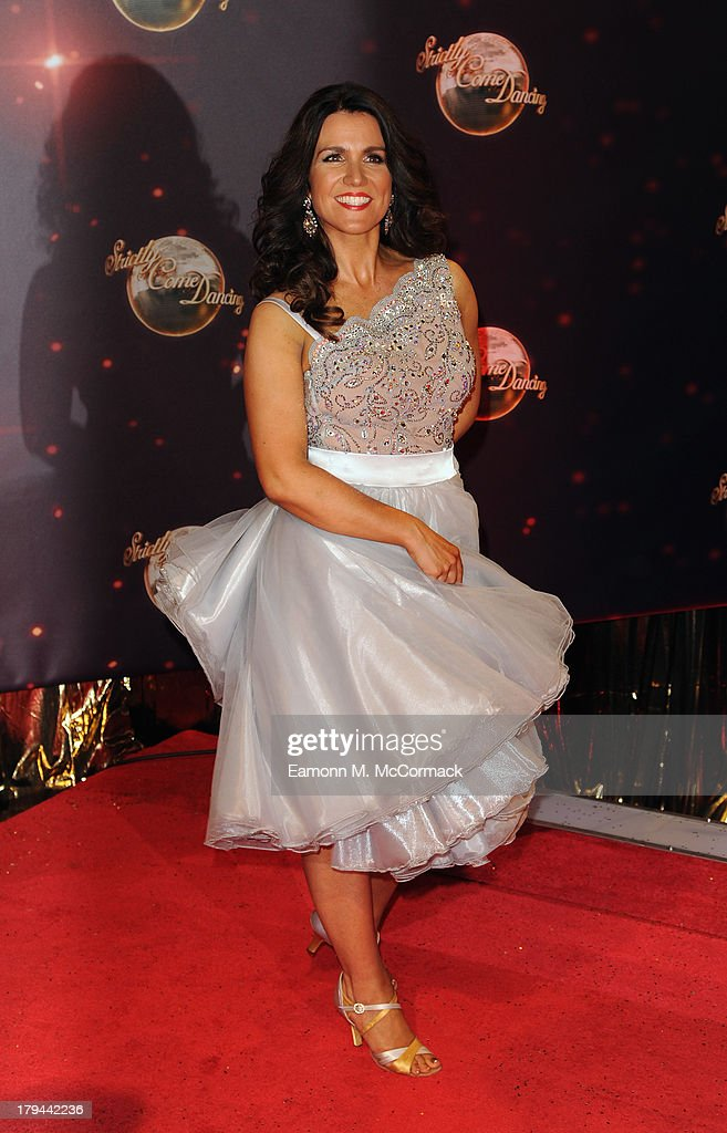 Susanna Reid attends the red carpet launch for 'Strictly Come Dancing' at Elstree Studios on September 3, 2013 in Borehamwood, England.