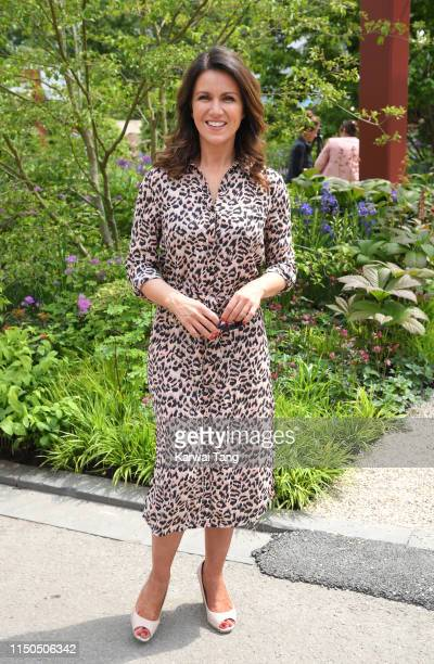 Susanna Reid attends the RHS Chelsea Flower Show 2019 press day at Chelsea Flower Show on May 20 2019 in London England