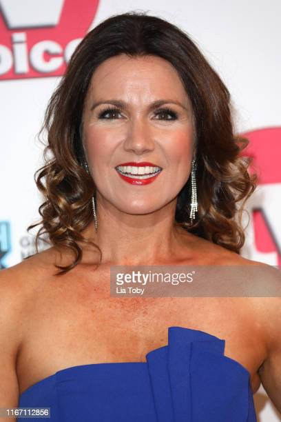 Susanna Reid attends The TV Choice Awards 2019 at Hilton Park Lane on September 9 2019 in London England