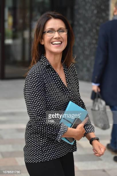 Susanna Reid seen at the ITV Studios sighting on December 03 2018 in London England