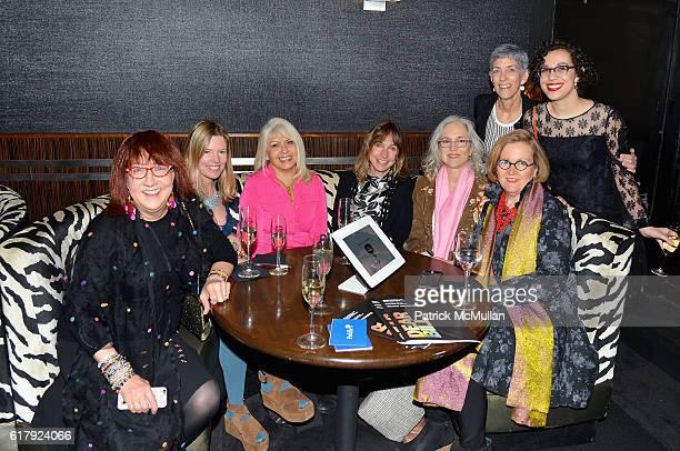 Susanna Singer Meredith McGregor Rita Anthoine Lori Berlow Robyn Stein Maryanne David Darlene Kaplan and Esther Zuckerman attend the Aperture...