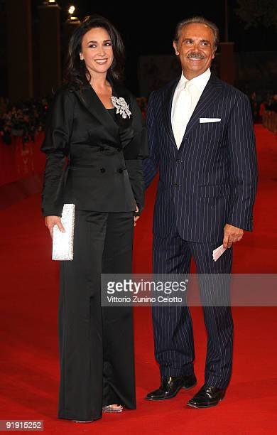 Susanna Smit and Mauro Masi attends the 'Triage' premiere during Day 1 of the 4th International Rome Film Festival held at the Auditorium Parco della...