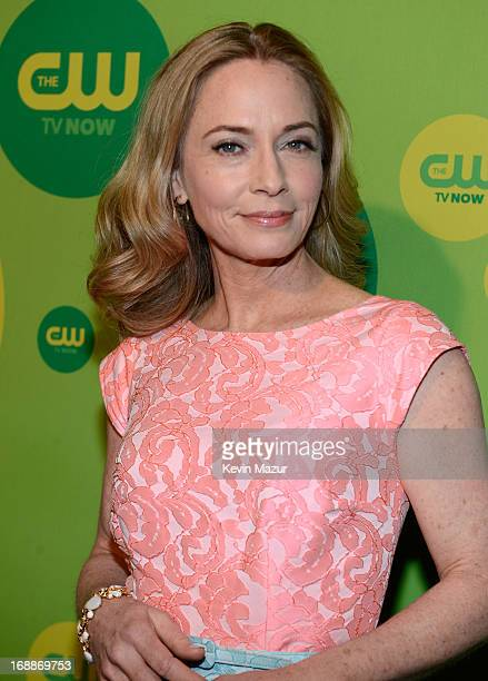 Susanna Thompson attends the CW Network's 2013 Upfront at The London Hotel on May 16 2013 in New York City