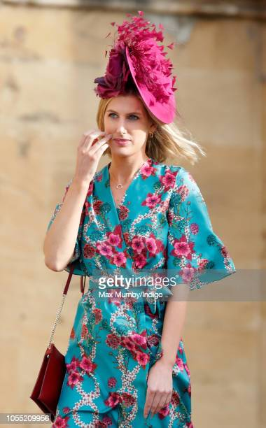 Susanna Warren attends the wedding of Princess Eugenie of York and Jack Brooksbank at St George's Chapel on October 12 2018 in Windsor England