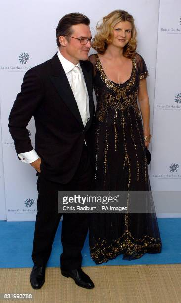 Susannah Constantine and guest arrive at the Raisa Gorbachev Foundation Russian Ball at Althorp House Northamptonshire PRESS ASSOCIATION Photo...