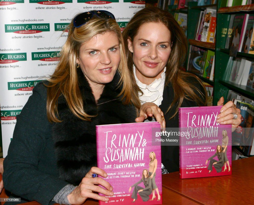 """Trinny Woodall and Susannah Constantine Sign Their Book """"Trinny and Susannah -"""