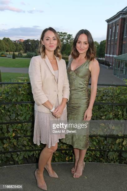 Susannah Fielding and Lydia Leonard attend the ATG Summer Party at Kensington Palace Gardens in celebration of Sir Ian McKellen on September 8 2019...