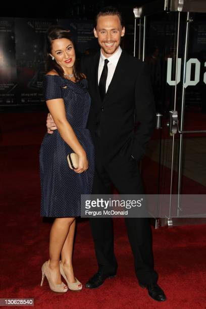 Susannah Fielding and Tom Hiddleston attend the premiere for 'The Deep Blue Sea' at The 55th BFI London Film Festival at The Odeon Leicester Square...