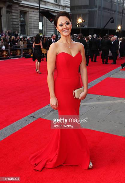 Susannah Fielding attends the 2012 Olivier Awards at The Royal Opera House on April 15 2012 in London England