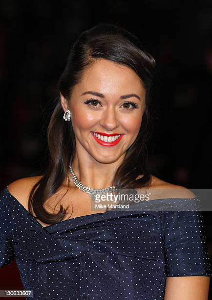 Susannah Fielding attends the premiere of 'The Deep Blue Sea' at the closing night of The 55th BFI London Film Festival at Odeon Leicester Square on...