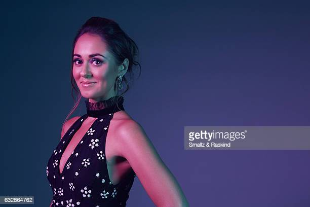 Susannah Fielding poses for a portrait at the 2017 People's Choice Awards at the Microsoft Theater on January 18 2017 in Los Angeles California