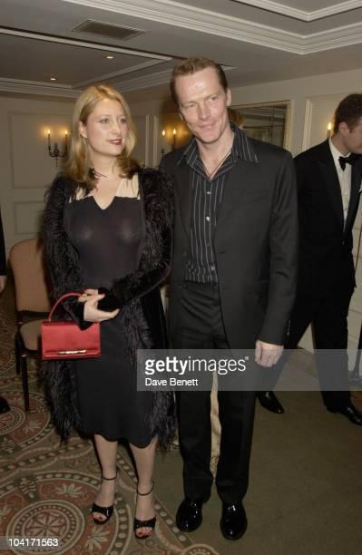 Susannah Harker Iain Glen Evening Standard Film Awards At The Savoy Hotel London