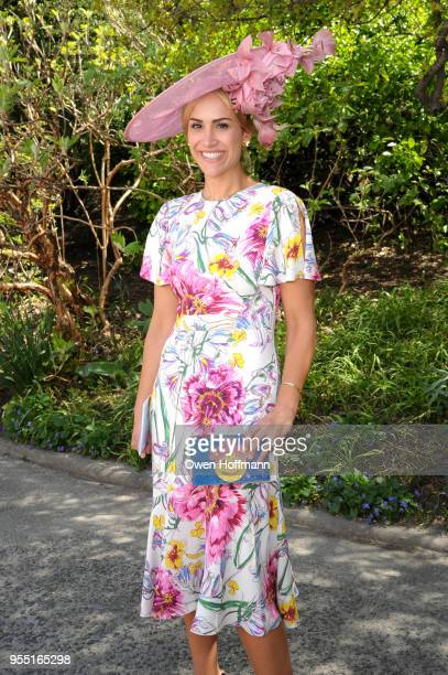 Susannah Hayworth attends 36th Annual Frederick Law Olmsted Awards Luncheon Central Park Conservancy at The Conservatory Garden in Central Park on...