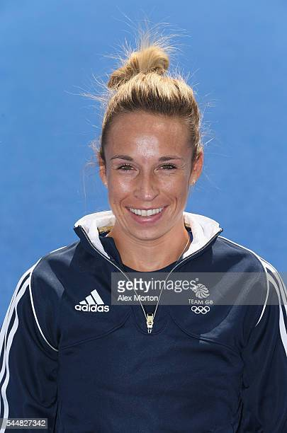 Susannah Townsend of Team B during the Announcement of Hockey Athletes Named in Team GB for the Rio 2016 Olympic Games at the Bisham Abbey National...
